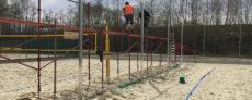 Platzbau - Trennzaun
